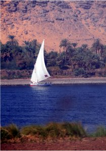Felluca on the Nile